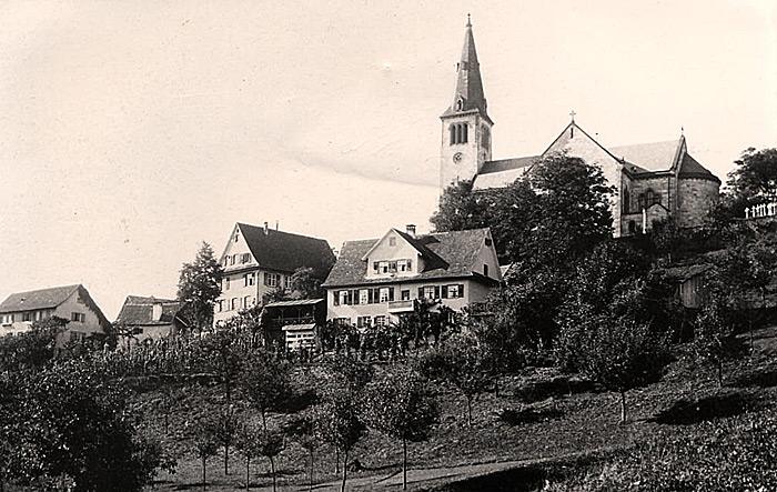 Ortsansicht Fischerbach um 1900
