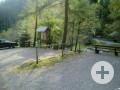 Parkplatz bei der Walderholungsanlage